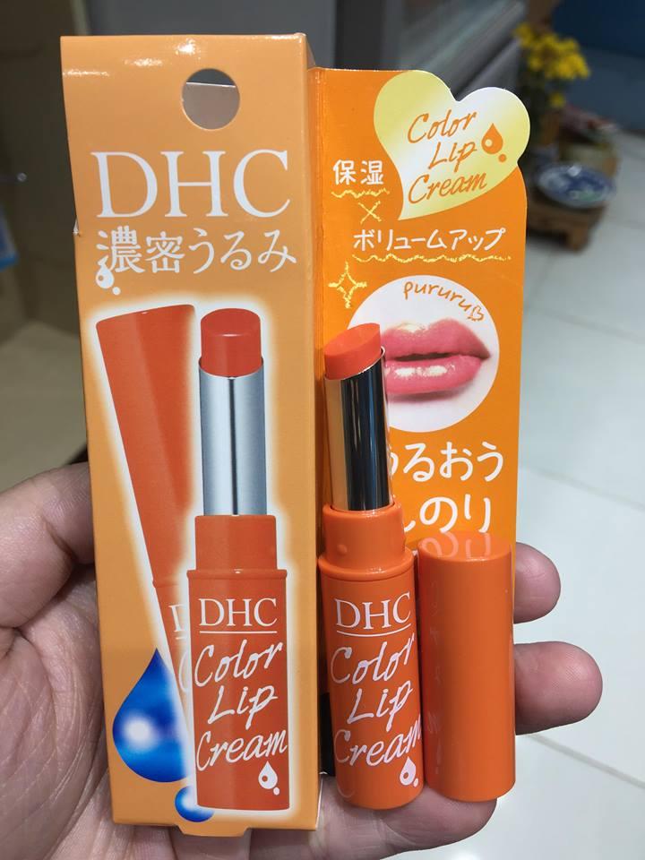 Dưỡng môi DHC màu cam 1.5g