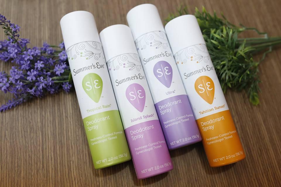 Kết quả hình ảnh cho Summer'S Eve Baby Powder Deodorant Spray