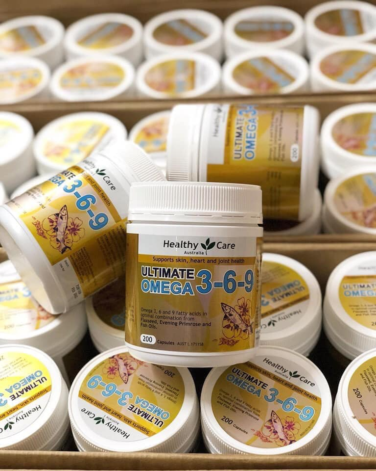 OMEGA 3-6-9 HEALTHY CARE ÚC