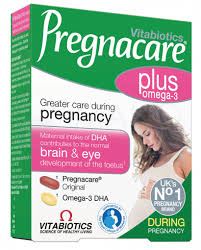 Vitamin bà bầu Pregnacare Plus Omega 3 56v 28days